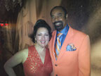 With Walt Frazier.