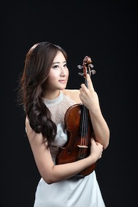 picture of Gi Yeon Yoon with violin